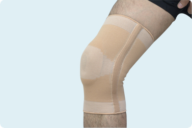 Elastic Pull-over Cartilage Knee Support